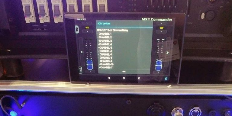 Wireless RDM communication on Android